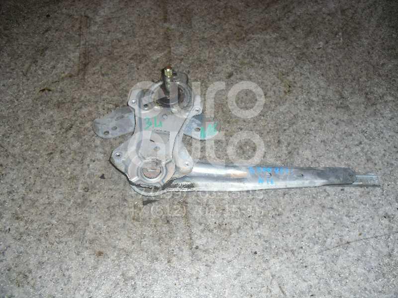 Стеклоподъемник механ. задний левый для Nissan Almera N16 2000-2006 - Фото №1
