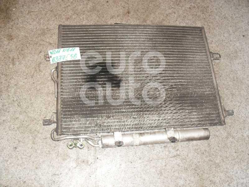 Радиатор кондиционера (конденсер) для Mercedes Benz W211 E-Klasse 2002-2009;W219 CLS 2004-2010 - Фото №1
