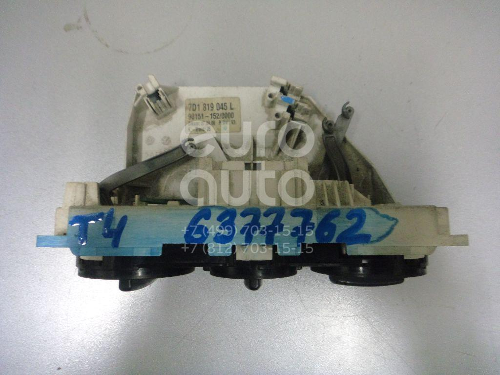Блок управления отопителем для VW Transporter T4 1996-2003 - Фото №1