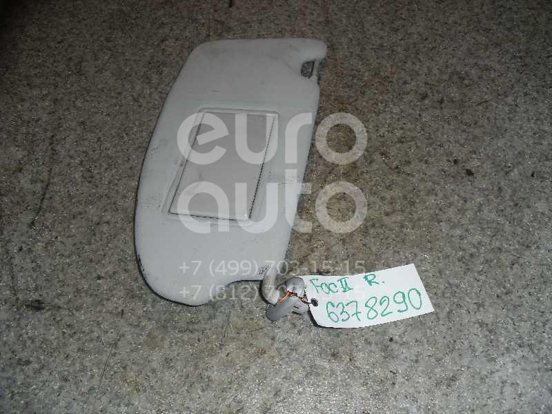 Козырек солнцезащитный (внутри) для Ford Focus II 2008-2011;Focus II 2005-2008 - Фото №1
