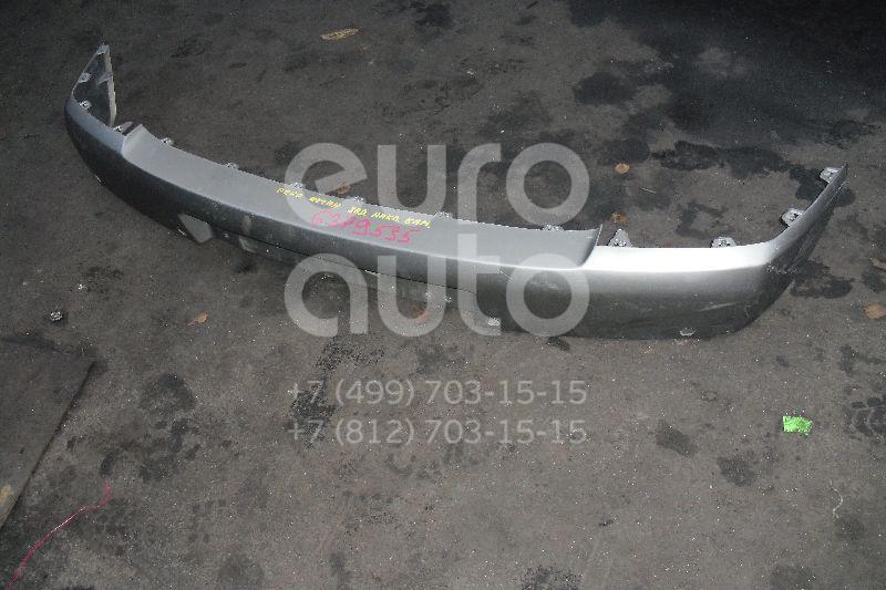 Накладка заднего бампера для Renault Megane II 2002-2009 - Фото №1