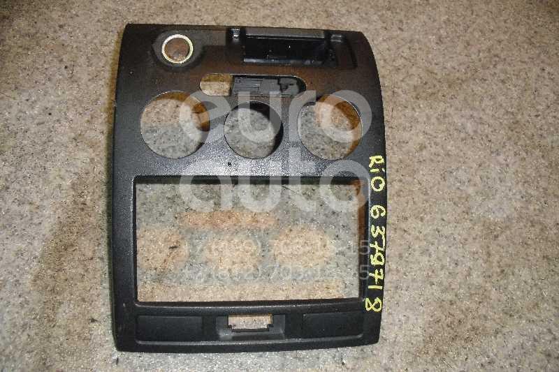 Рамка магнитолы для Kia RIO 2000-2004 - Фото №1