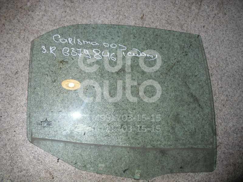 Стекло двери задней правой для Mitsubishi Carisma (DA) 2000-2003;Carisma (DA) 1995-2000 - Фото №1