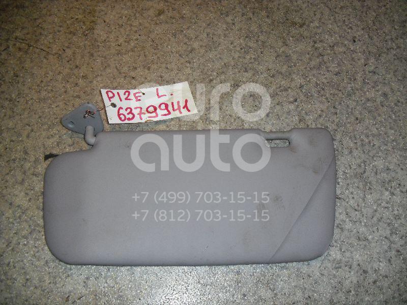 Козырек солнцезащитный (внутри) для Nissan Primera P12E 2002-2007 - Фото №1