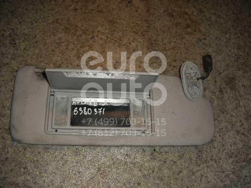 Козырек солнцезащитный (внутри) для Toyota Avensis II 2003-2008 - Фото №1