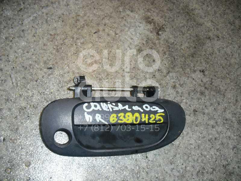 Ручка двери передней наружная правая для Mitsubishi Carisma (DA) 2000-2003;Carisma (DA) 1995-2000;Space Star 1998-2004 - Фото №1