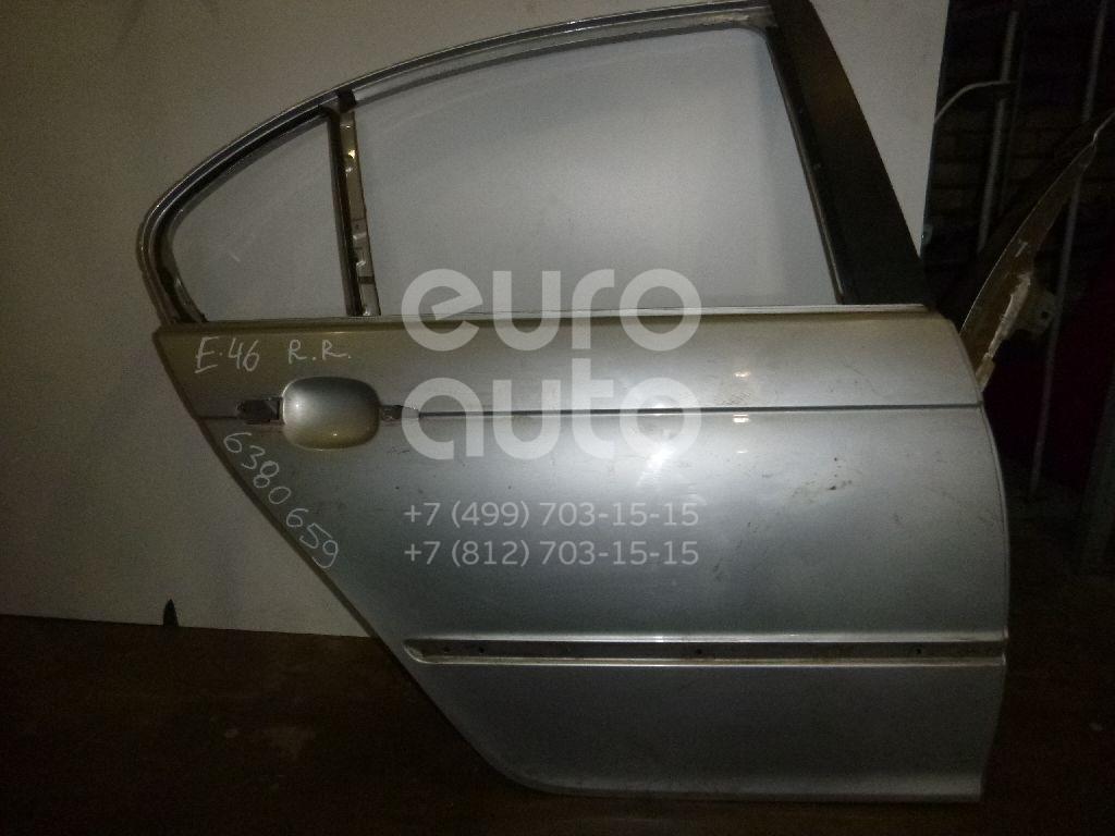 Дверь задняя правая для BMW 3-серия E46 1998-2005 - Фото №1