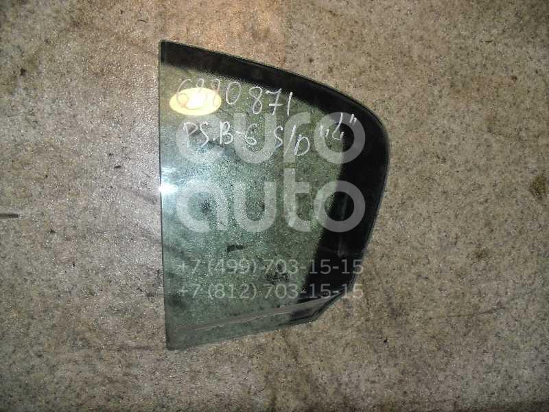Стекло двери задней левой (форточка) для VW Passat [B6] 2005-2010 - Фото №1