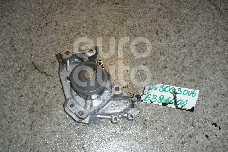 Насос водяной (помпа) для Lexus,Toyota RX 300 1998-2003;Camry V20 1996-2001;RX 300/330/350/400h 2003-2009;Highlander I 2001-2006;Sienna II 2003-2010;ES (CV3) 2001-2006 - Фото №1