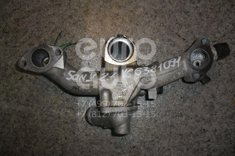 Корпус термостата для Hyundai,Kia Sonata IV (EF)/ Sonata Tagaz 2001-2012;Tucson 2004-2010;Magentis 2000-2005 - Фото №1