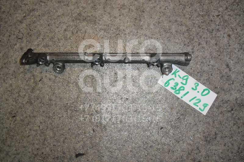Рейка топливная (рампа) для Mitsubishi Pajero/Montero Sport (K9) 1998-2008;Pajero/Montero (V1, V2, V3, V4) 1991-1996;Pajero/Montero (V1, V2, V3, V4) 1997-2004;Pajero/Montero (V6, V7) 2000-2006 - Фото №1