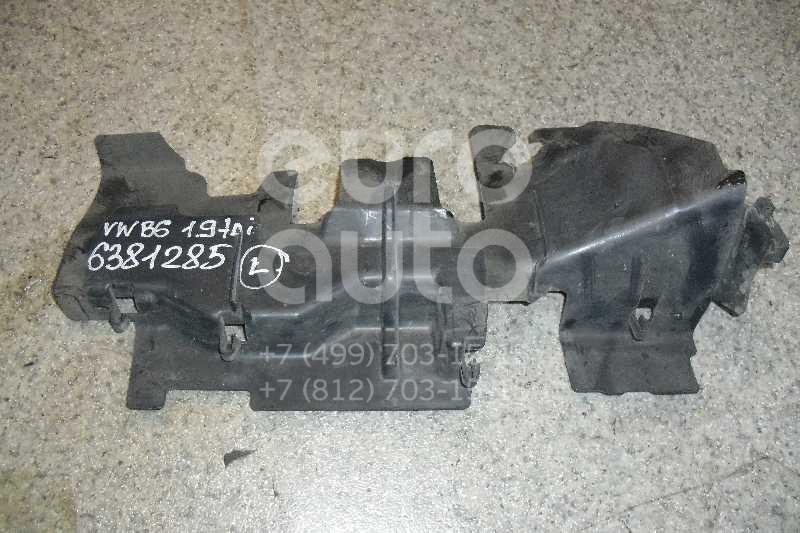Воздуховод радиатора левый для VW Passat [B6] 2005-2010 - Фото №1