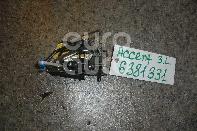 Замок двери задней левой для Hyundai Accent II (+ТАГАЗ) 2000-2012 - Фото №1