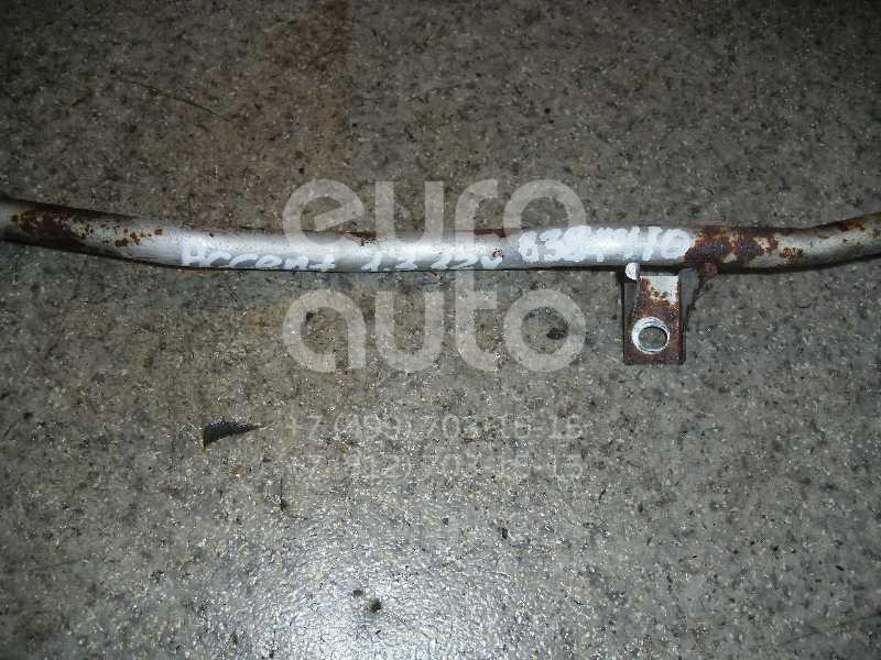 Трубка охлажд. жидкости металлическая для Hyundai Accent II (+ТАГАЗ) 2000-2012;Getz 2002-2010;Accent I 1994-2000 - Фото №1