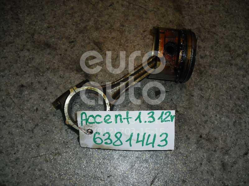 Поршень с шатуном для Hyundai Accent II (+ТАГАЗ) 2000-2012 - Фото №1