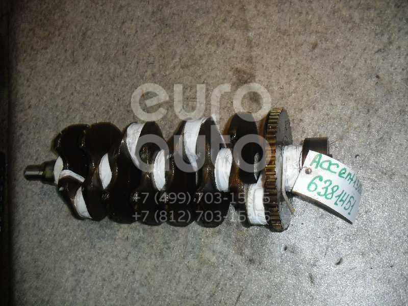 Коленвал для Hyundai Accent II (+ТАГАЗ) 2000-2012;Getz 2002-2010 - Фото №1