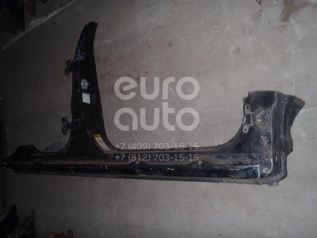Порог со стойкой правый для Toyota Avensis II 2003-2008 - Фото №1