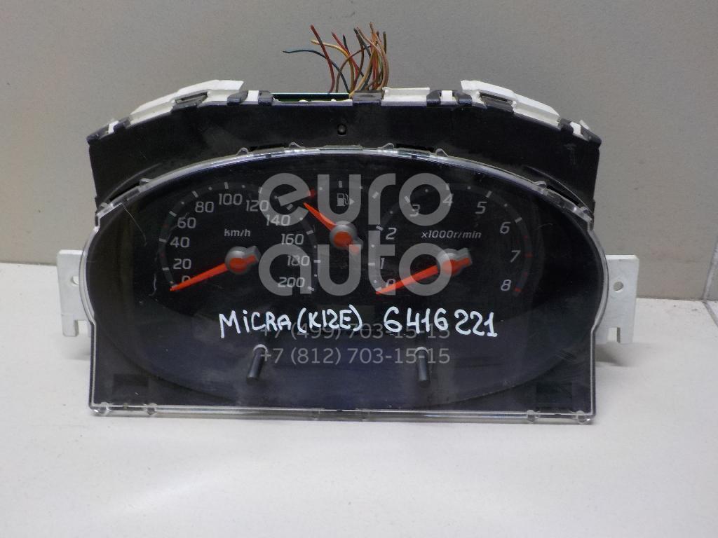 Купить Панель приборов Nissan Micra (K12E) 2002-2010; (24810AX760)