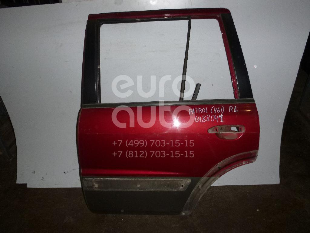 Дверь задняя левая Nissan Patrol (Y61) 1997-2009; (H2101VB000)