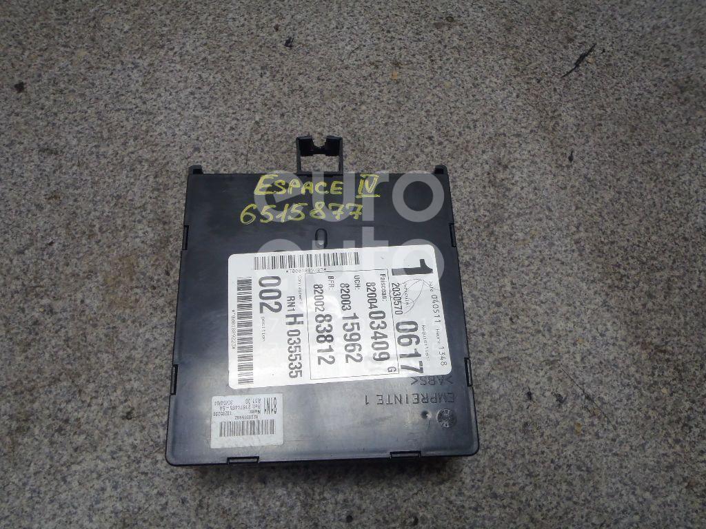 Купить Блок электронный Renault Espace IV 2002-2014; (8200403409)