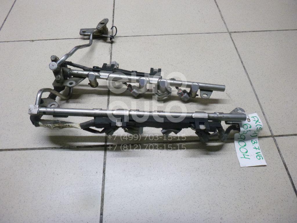 Купить Рейка топливная (рампа) Infiniti FX/QX70 (S51) 2008-; (17521EY00A)