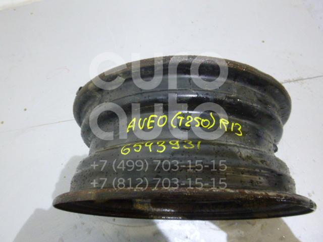 Диск колесный железо для Chevrolet Aveo (T250) 2005-2011 - Фото №1