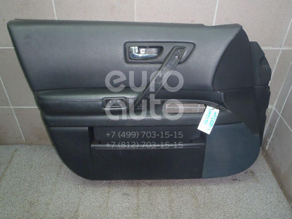 Купить Обшивка двери передней левой Infiniti FX (S50) 2003-2007; (80901CM80B)