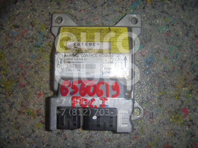Блок управления AIR BAG Ford Focus I 1998-2005; (98AG14B056AF)