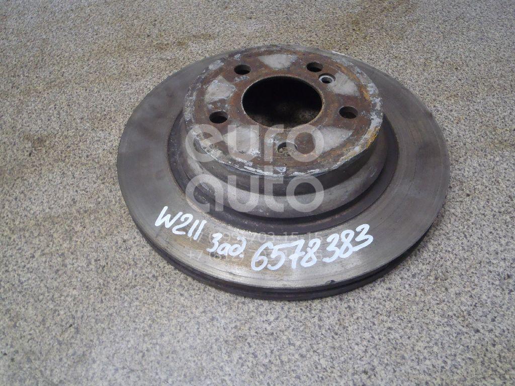 Купить Диск тормозной задний Mercedes Benz W211 E-Klasse 2002-2009; (2114230912)