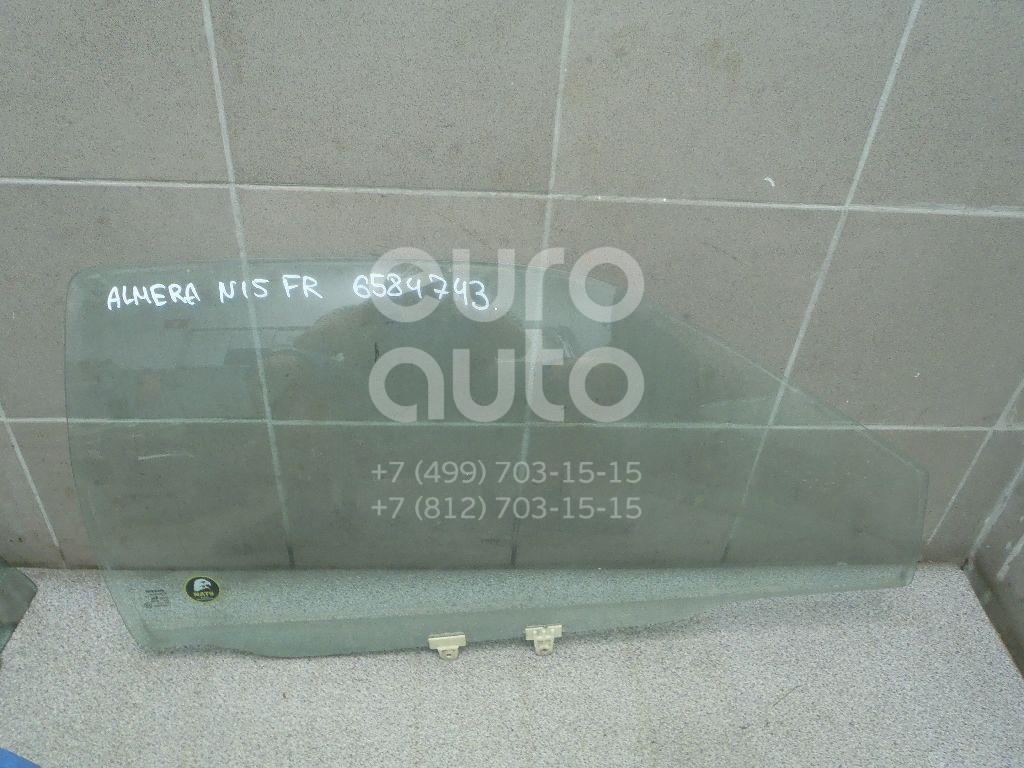 Купить Стекло двери передней правой Nissan Almera N15 1995-2000; (803000N060)