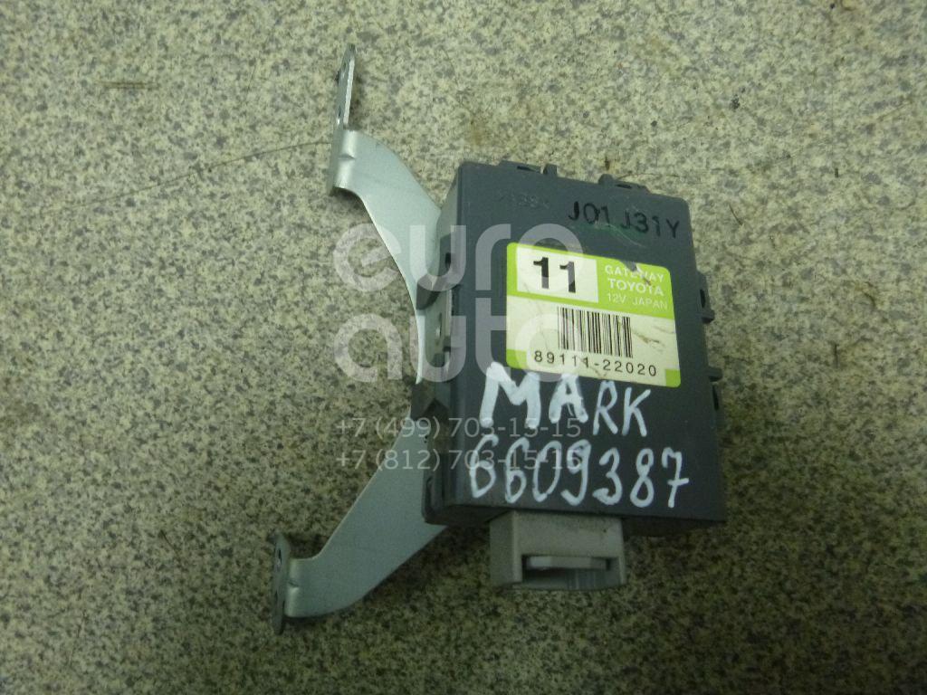 Купить Блок электронный Toyota Mark 2 (X11#) 2000-2007; (8911122020)