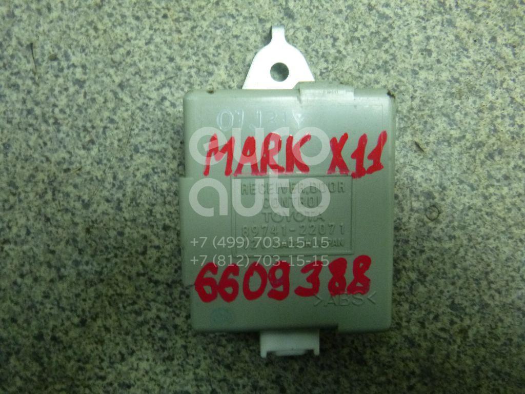 Купить Блок электронный Toyota Mark 2 (X11#) 2000-2007; (8974122071)