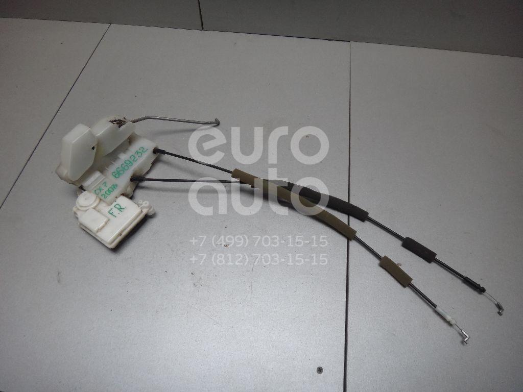 Купить Замок двери передней правой Mazda CX 7 2007-2012; (EH1458310D)