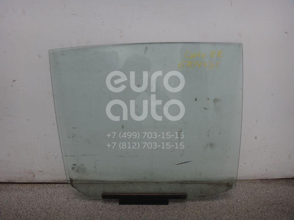 Купить Стекло двери задней правой Hyundai Getz 2002-2010; (834201C010)