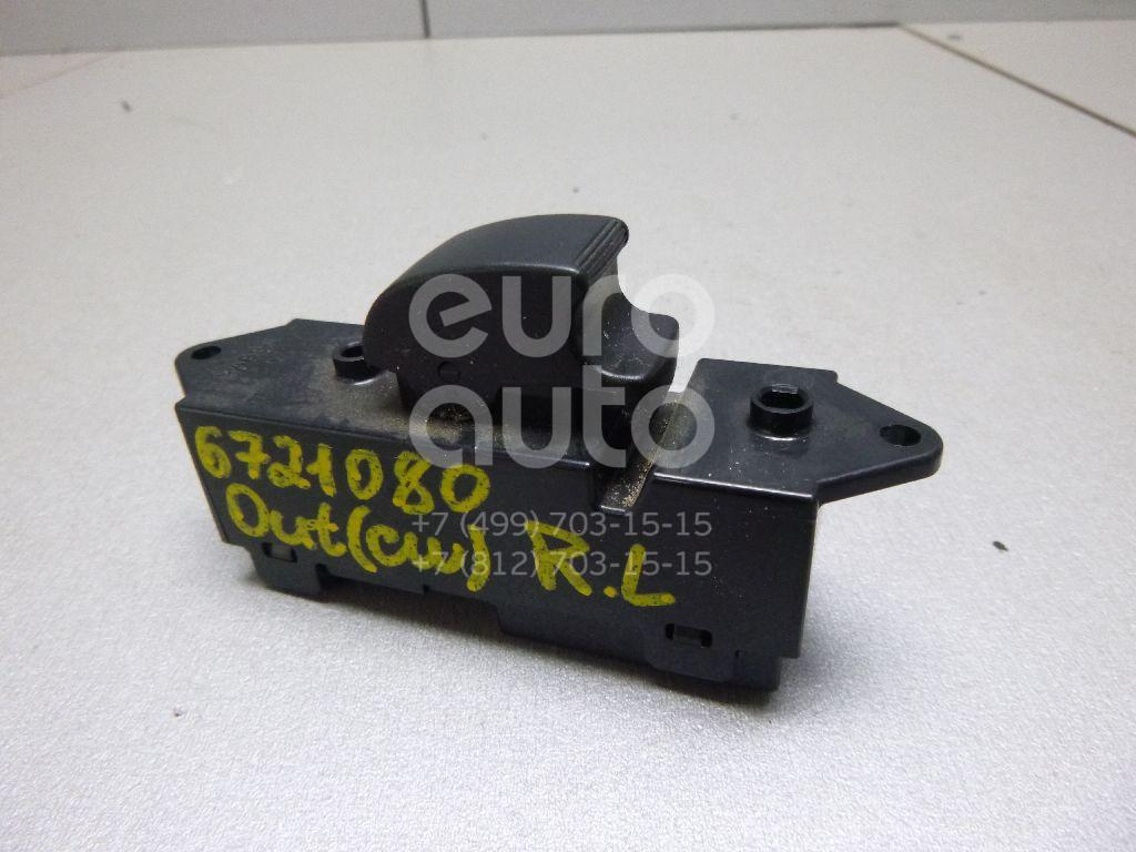 Кнопка стеклоподъемника Mitsubishi Outlander XL (CW) 2006-2012; (8608A063)