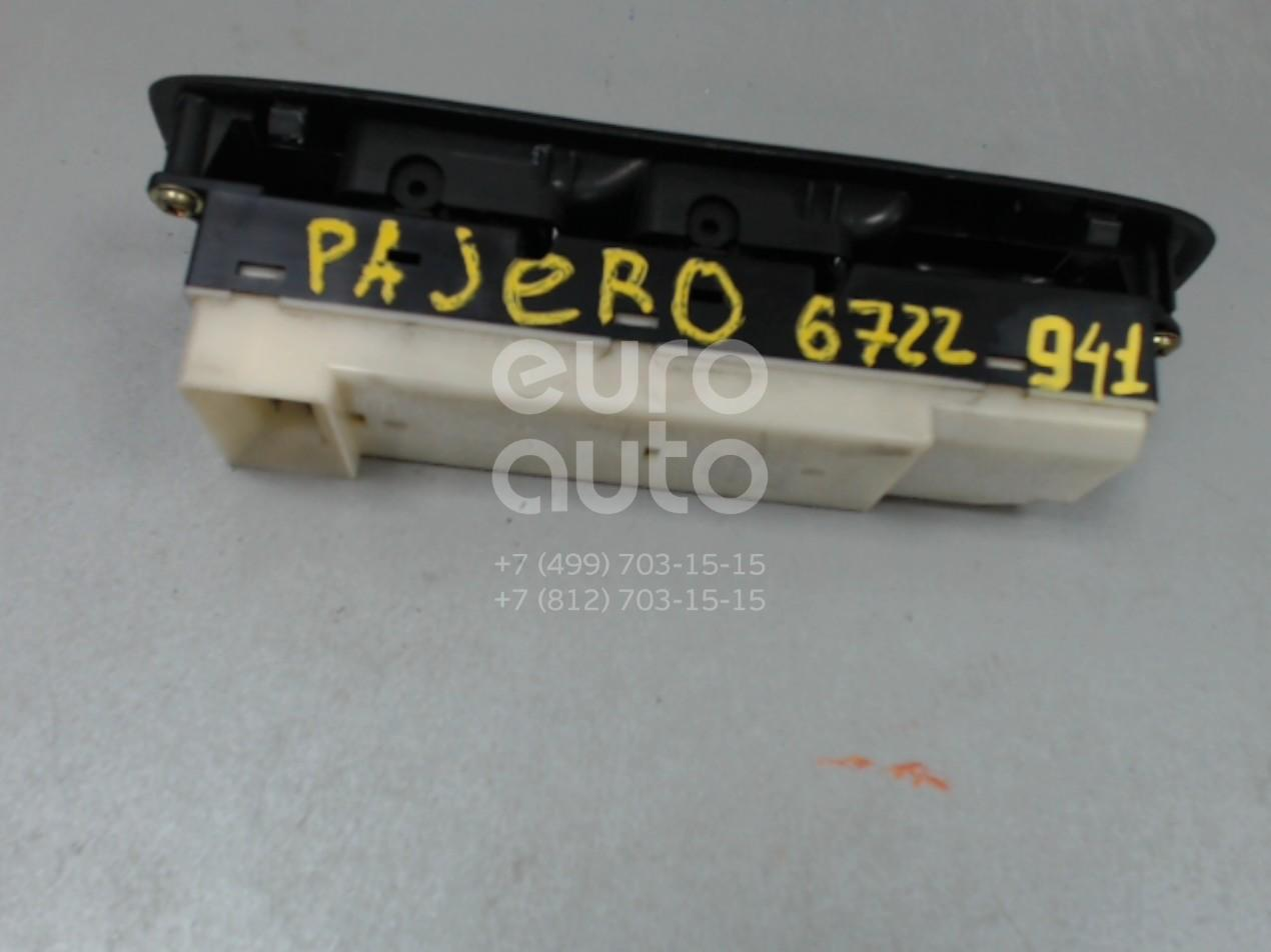 Купить Блок управления стеклоподъемниками Mitsubishi Pajero/Montero III (V6, V7) 2000-2006; (MR445652)