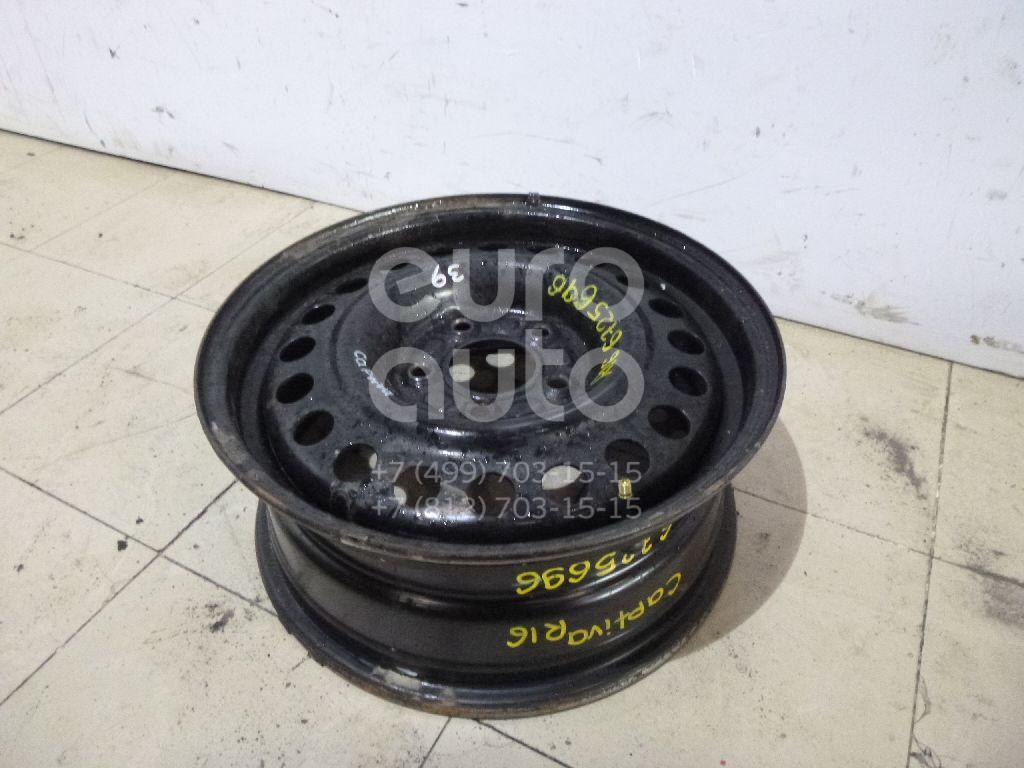 Диск колесный железо Chevrolet Captiva (C100) 2006-2010; (9595551)