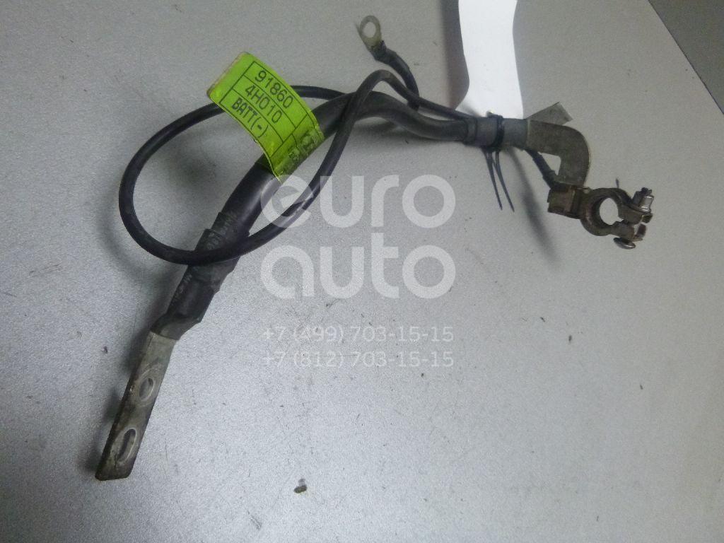 Купить Клемма аккумулятора минус Hyundai Starex H1/Grand Starex 2007-; (918604H010)