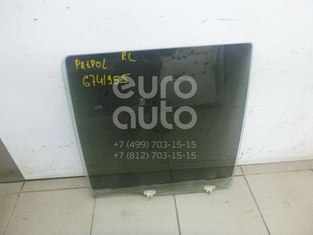 Купить Стекло двери задней левой Nissan Patrol (Y61) 1997-2009; (82301VB000)