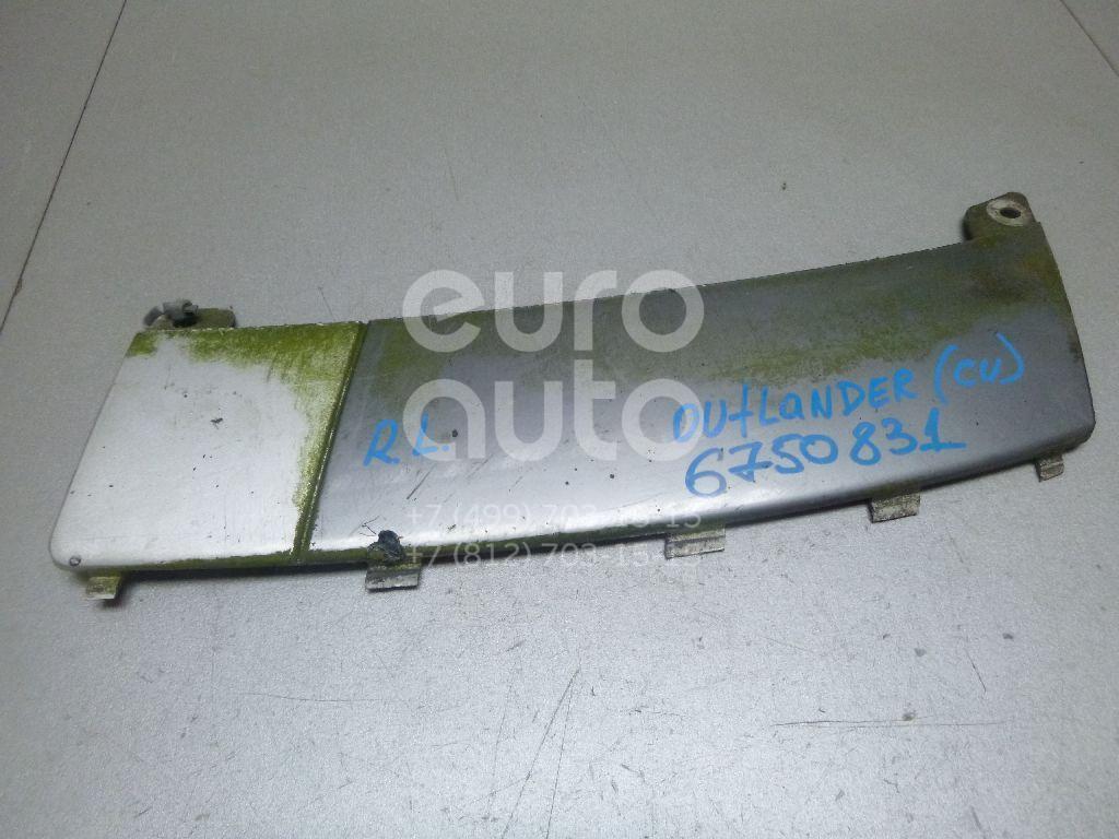 Купить Накладка заднего бампера левая Mitsubishi Outlander (CU) 2001-2008; (MN190177HA)
