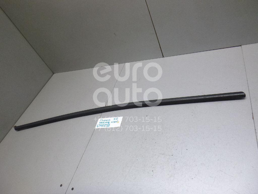 Накладка стекла заднего правого Renault Fluence 2010-; (823300027R)  - купить со скидкой