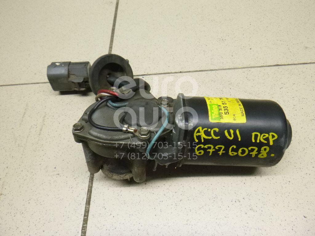 Купить Моторчик стеклоочистителя передний Honda Accord VI 1998-2002; (76505S1AG01)