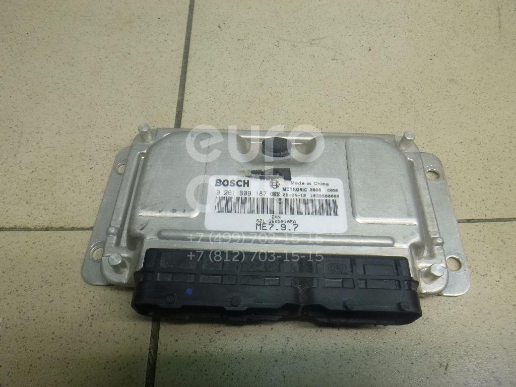 Блок управления двигателем Chery QQ6 (S21) 2007-2010; (S213605010EA)