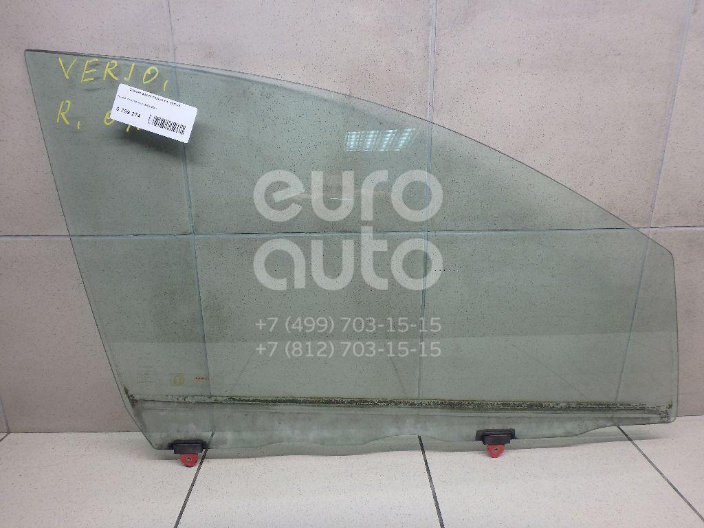 Купить Стекло двери передней правой Toyota Avensis Verso (M20) 2001-2009; (6810144120)