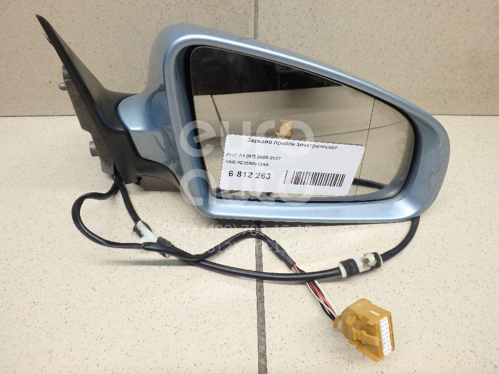Купить Зеркало правое электрическое Audi A4 [B7] 2005-2007; (8E2858532AA)