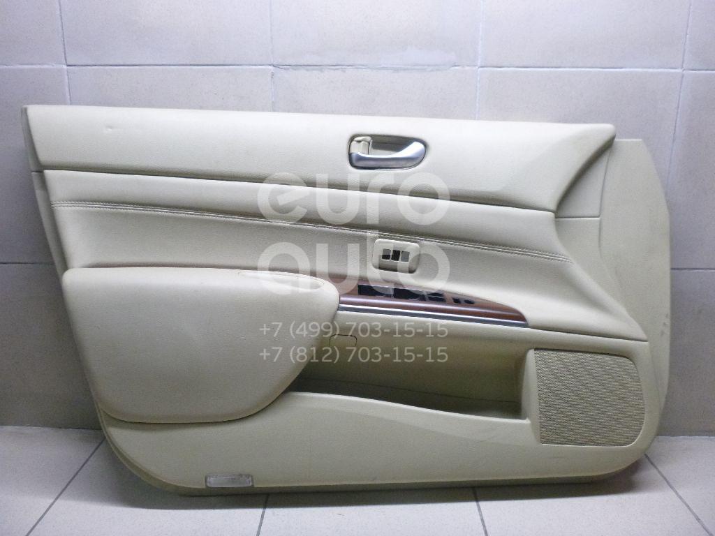 Обшивка двери передней левой Nissan Teana J32 2008-2013; (80901JN99A)