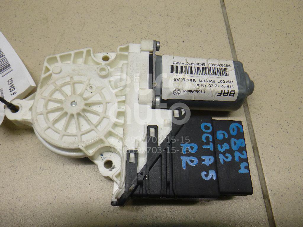 Моторчик стеклоподъемника Skoda Octavia (A5 1Z-) 2004-2013; (5K0959704ASK3)  - купить со скидкой