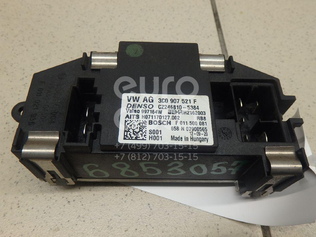 Купить Резистор отопителя VW Passat CC 2008-; (3C0907521G)