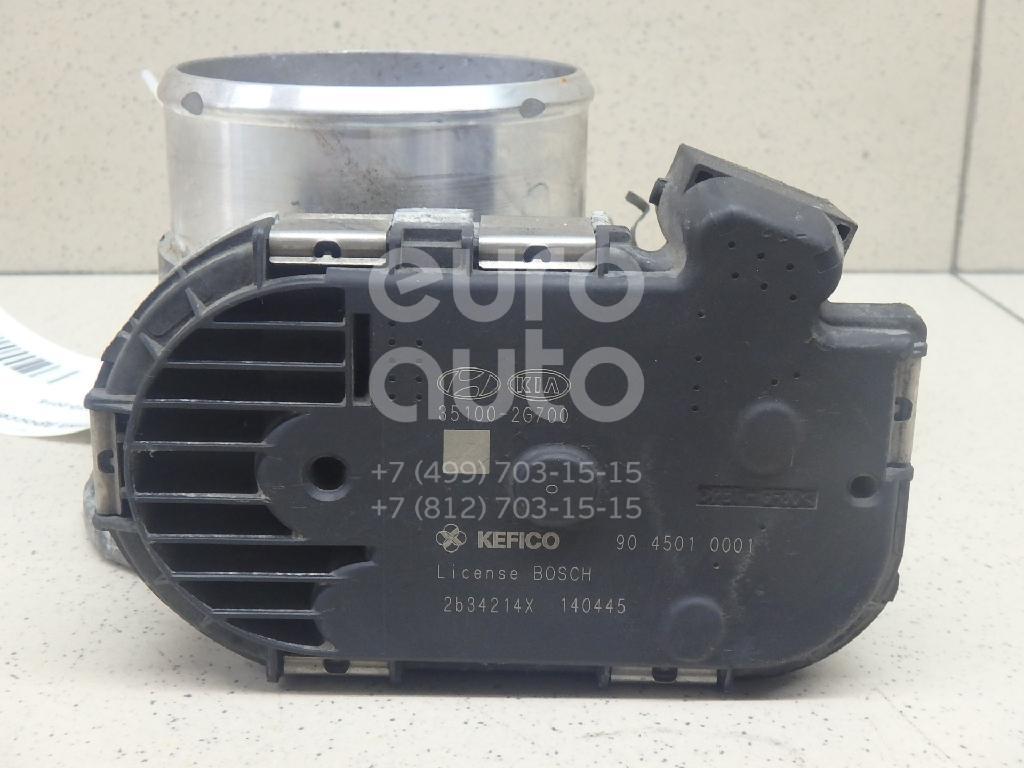 Купить Заслонка дроссельная электрическая Kia Optima III 2010-2015; (351002G700)