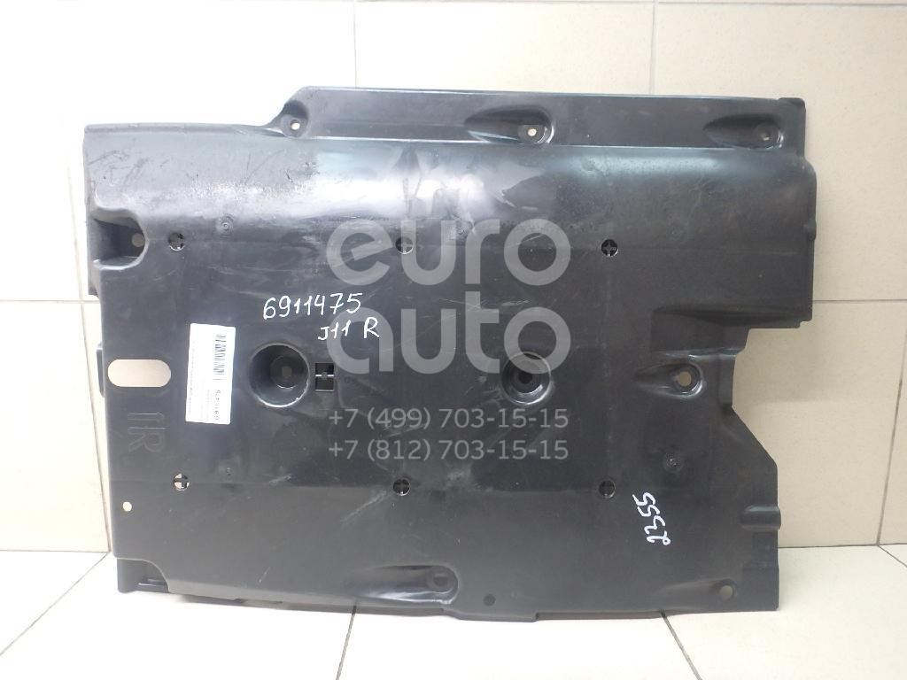 Купить Защита антигравийная Nissan Qashqai (J11) 2014-; (74814-4EA0B)